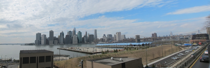 View of Manhattan from the Brooklyn Heights Promenade